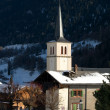 Alpine Church — Stockfoto