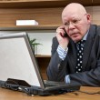 A BUSINESS CALL — Stock Photo