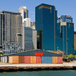 Wharf & City Buildings — Stock Photo #5933428