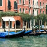 Gondolas, Venice, Italy — Stock Photo #5934105