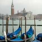 Grand Canal Scene, Venice, Italy — Stock Photo #5934299