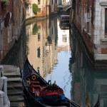 Canal Scene, Venice, Italy — Stock Photo #5934544