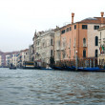Grand Canal Scene, Venice, Italy — Stock Photo #5934956