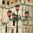 Ornate Street Lights — Stock Photo