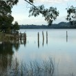 Wingecarribee Dam — Stock Photo