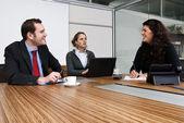 Oficina discusion — Foto de Stock