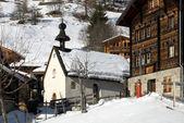 Cena alpina, suíça — Foto Stock