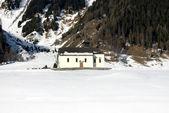 Igreja alpina — Foto Stock