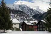 Alpine Chalets — Stock Photo