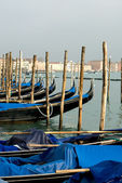 Gondolas, Venice, Italy — Stock Photo