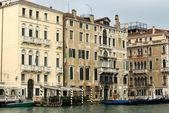 Гранд-канал сцены, Венеция, Италия — Стоковое фото