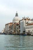 Canal grande cena, veneza, itália — Foto Stock