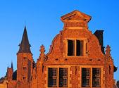 Bruges, old building — Stock Photo