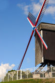 Windmill, Bruges — Stock Photo