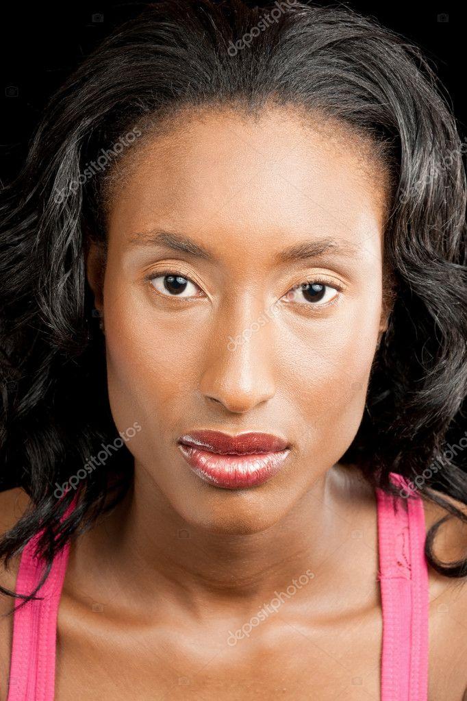 迷人的黑女人图片