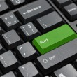 Green start key — Stock Photo #5807093