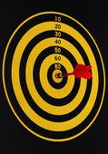 Magnetic dart — Stock Photo