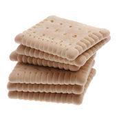 Pět chutné cookies — Stock fotografie