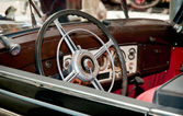 Steering wheel — Foto Stock