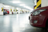 Underground garage — Stock Photo
