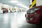 Underground garage — Stock Photo