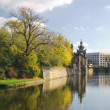 Parks in Dresden — Stock Photo
