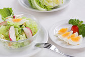 Healthy salads — Stock Photo