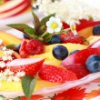 Fresh fruit dessert — Stock Photo #5632383