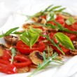 Champignon Carpaccio - Stock Photo