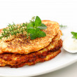Potato pancakes — Stock Photo #5815514