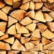 Pile of wood - Stock Photo