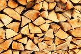 Odun yığını — Stok fotoğraf