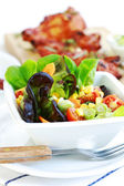 Small salad — Stock Photo