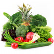 Various vegetables and fruits - Stock Photo