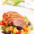 Stock Photo: Roasted duck