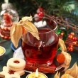 Hot drink for winter and Christmas — Stock Photo #6061043