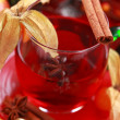 Hot wine punch — Foto Stock