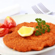 Stock Photo: Wiener Schnitzel with lemon