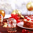 Christmas table setting — Stock Photo #6289667