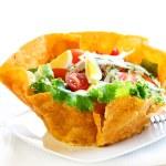 Gourmet salad with tuna — Stock Photo #6289707
