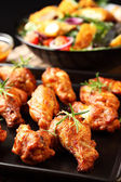 Hot chicken wings — Stockfoto