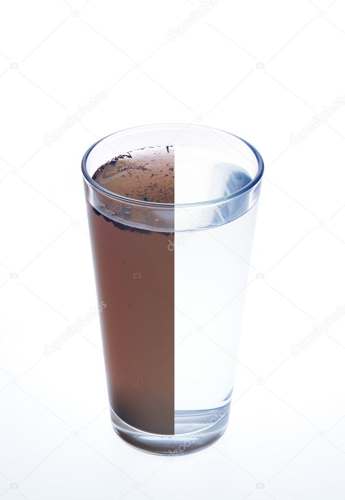how to turn muddy water clear