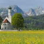 Church in springtime — Stock Photo #5659192