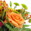 Flower bouquet background — Stock Photo