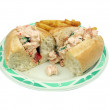 Shrimp salad sandwich 2 — Stock Photo