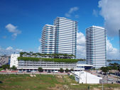 South beach buildings — Stock Photo