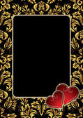 Framework to the Valentine's day — ストックベクタ