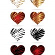 Royalty-Free Stock Vector Image: Heart to the Valentines day