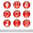 Medical Icons — Stock Vector #6522263