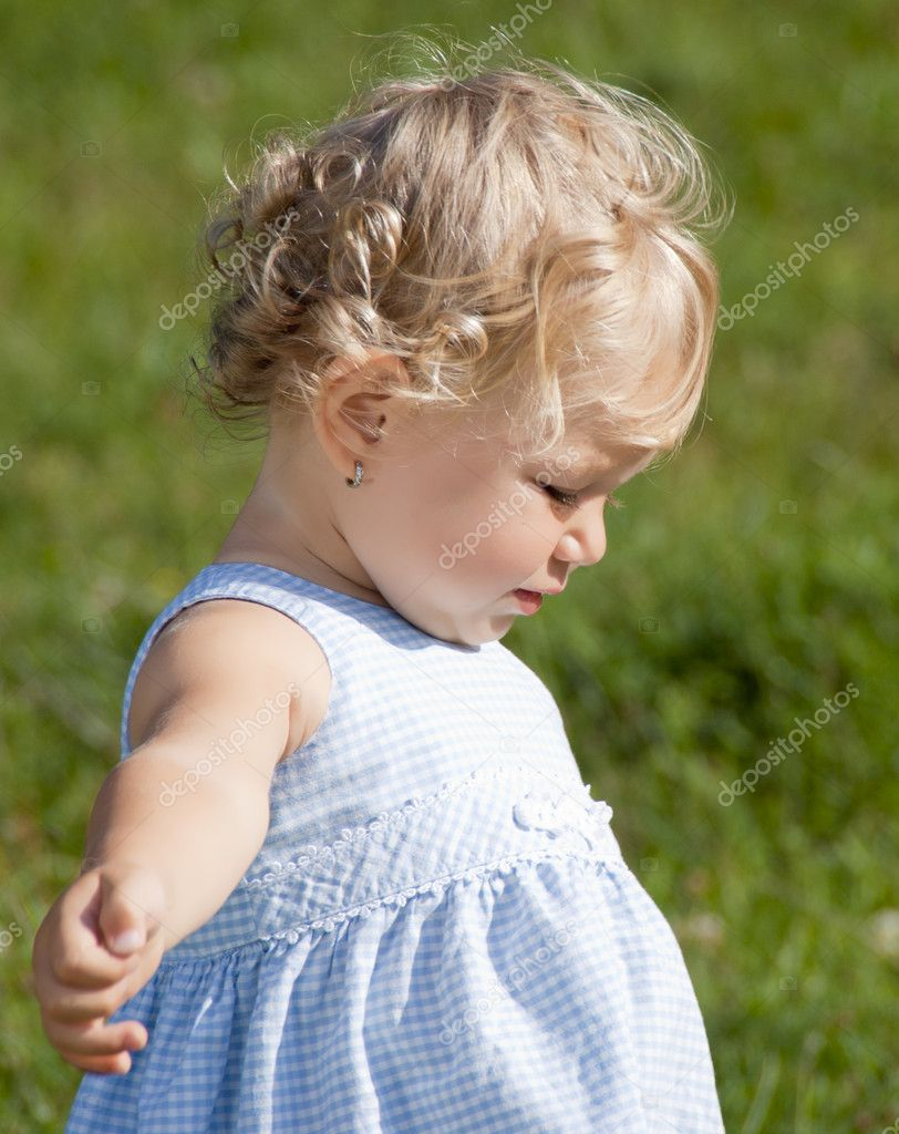 Blond Baby Girl Stock Photo 169 Archymeder 6594499